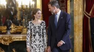 J FDEZ - LARGO La Razon Pool 20161012 Recepcion de los Reyes en el Palacio Real de Madrid con motivo del Dia de la Fiesta Nacional